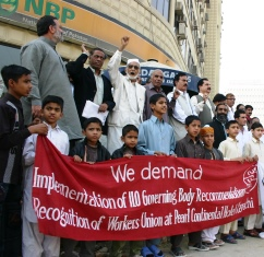 Justice for Pearl Continental Hotel Karachi workers and